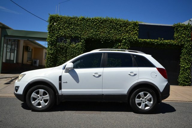 Used Holden Captiva CG Series II 5 (4x4) Blair Athol, 2011 Holden Captiva CG Series II 5 (4x4) White 6 Speed Automatic Wagon