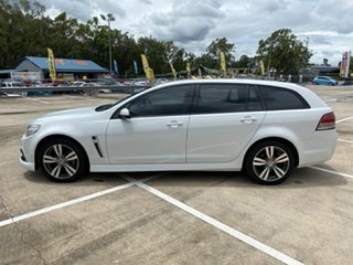 2015 Holden Commodore VF MY15 SV6 White 6 Speed Automatic Sportswagon