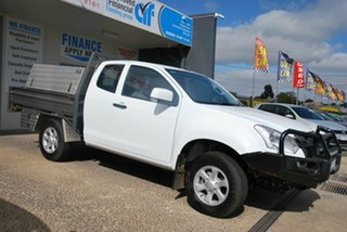 2018 Isuzu D-MAX TF MY17 SX (4x4) White 6 Speed Automatic Space Cab Chassis