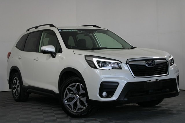 Used Subaru Forester S5 MY19 2.5i CVT AWD Wayville, 2018 Subaru Forester S5 MY19 2.5i CVT AWD White Pearl 7 Speed Constant Variable Wagon