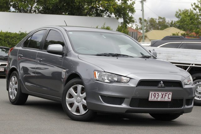 Used Mitsubishi Lancer CJ MY12 ES Sportback Mount Gravatt, 2012 Mitsubishi Lancer CJ MY12 ES Sportback Grey 6 Speed Constant Variable Hatchback