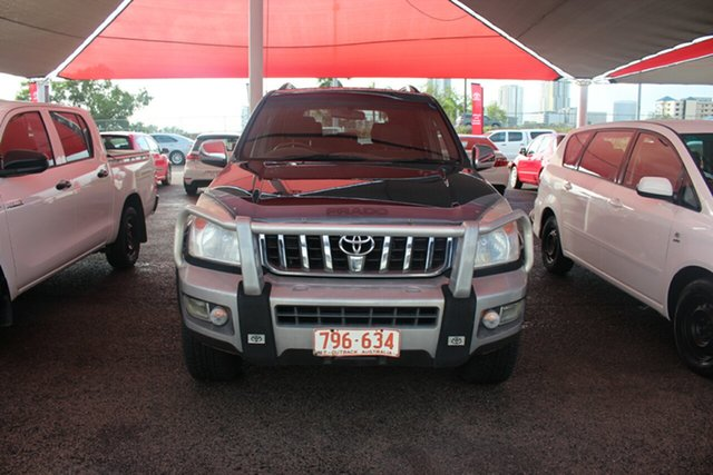 Pre-Owned Toyota Landcruiser Prado KDJ120R GXL Darwin, 2007 Toyota Landcruiser Prado KDJ120R GXL Dynamic Blue 6 Speed Manual Wagon