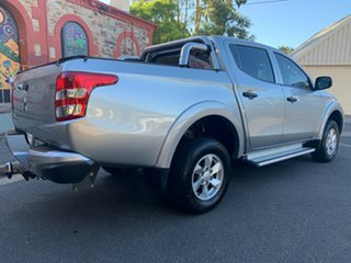 2016 Mitsubishi Triton MQ MY16 GLX+ Double Cab Silver 6 Speed Manual Utility.