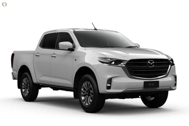 New Mazda BT-50 TFR40J XT 4x2 Waitara, 2020 Mazda BT-50 TFR40J XT 4x2 White 6 Speed Sports Automatic Utility