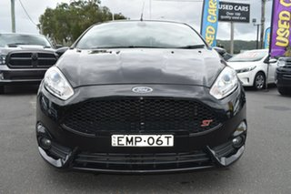 2015 Ford Fiesta WZ MY15 ST Black 6 Speed Manual Hatchback