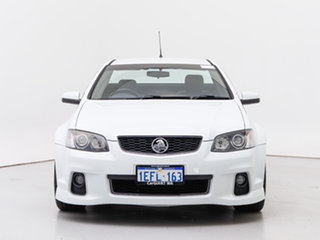 2013 Holden Commodore VE II MY12.5 SS-V Z-Series White 6 Speed Manual Utility.