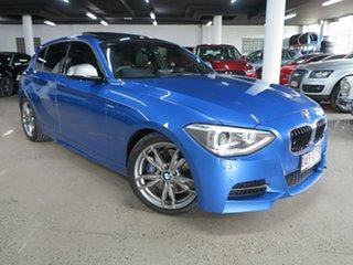 2013 BMW 1 Series F20 MY0713 M135i Blue 8 Speed Sports Automatic Hatchback.
