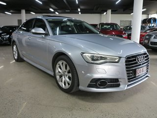 2016 Audi A6 4G MY16 S Line S Tronic Silver 7 Speed Sports Automatic Dual Clutch Sedan.