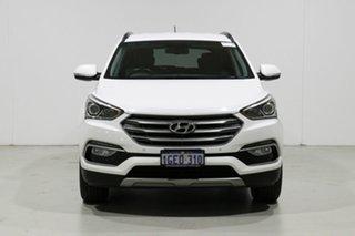 2016 Hyundai Santa Fe DM Series II (DM3) Elite CRDi (4x4) White 6 Speed Automatic Wagon.