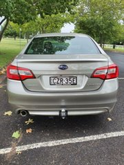 2015 Subaru Liberty B6 MY15 2.5i CVT AWD Champagne Pearl 6 Speed Constant Variable Sedan.