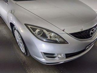 2009 Mazda 6 GH1051 MY09 Classic Silver 5 Speed Sports Automatic Sedan.