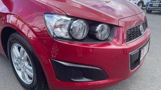 2013 Holden Barina TM MY13 CD Red 5 Speed Manual Hatchback.