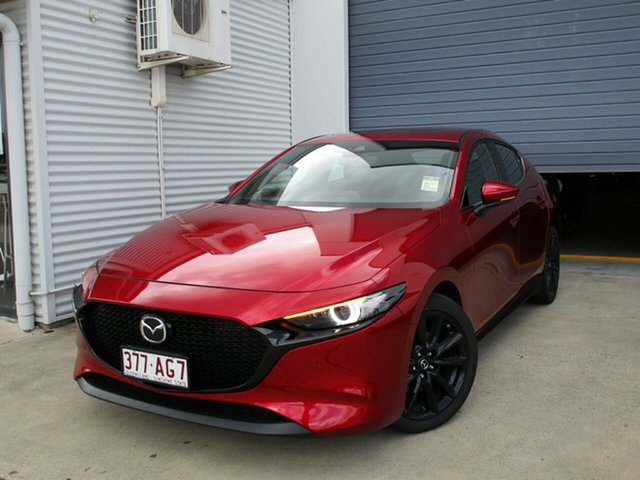 Used Mazda 3 BP2HHA X20 SKYACTIV-Drive Astina Caboolture, 2020 Mazda 3 BP2HHA X20 SKYACTIV-Drive Astina Soul Red Crystal 6 Speed Sports Automatic Hatchback