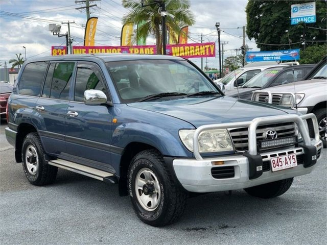 Used Toyota Landcruiser HDJ100R GXL Archerfield, 2005 Toyota Landcruiser HDJ100R GXL Blue 5 Speed Automatic Wagon