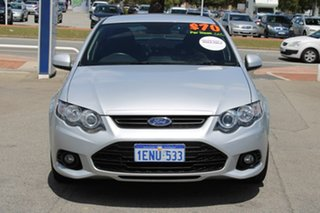 2013 Ford Falcon FG MkII XR6 Silver 6 Speed Sports Automatic Sedan.