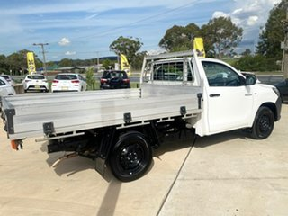 2018 Toyota Hilux Workmate White Sports Automatic Cab Chassis - Single Cab