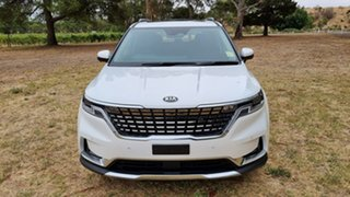 2020 Kia Carnival KA4 MY21 Platinum Snow White Pearl 8 Speed 8AT Wagon.