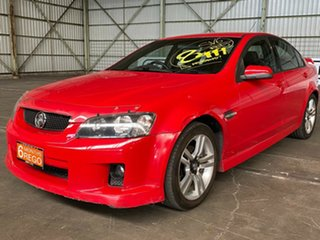 2006 Holden Commodore VE SV6 Red 5 Speed Sports Automatic Sedan.