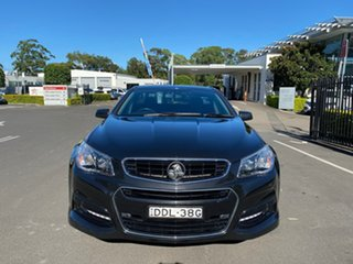 2013 Holden Ute VF MY14 SV6 Ute Black 6 Speed Manual Utility.