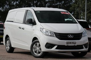 2017 LDV G10 SV7C White 6 Speed Manual Van.