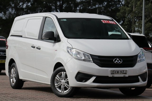 Pre-Owned LDV G10 SV7C Warwick Farm, 2017 LDV G10 SV7C White 6 Speed Manual Van