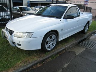 2002 Holden Commodore VY S White 4 Speed Automatic Utility.