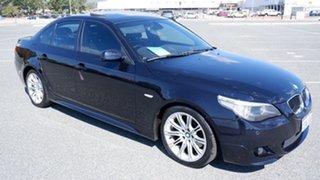 2007 BMW 5 Series E60 MY07 525i Steptronic Blue 6 Speed Sports Automatic Sedan.