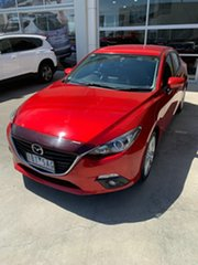 2014 Mazda 3 BM5236 SP25 SKYACTIV-MT Red 6 Speed Manual Sedan.