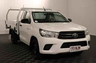 2015 Toyota Hilux GUN122R Workmate 4x2 White 5 speed Manual Cab Chassis.