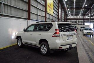 2014 Toyota Landcruiser Prado KDJ150R MY14 Altitude White 5 Speed Sports Automatic Wagon