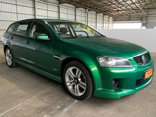 2009 Holden Commodore VE MY09.5 SV6 Sportwagon Green 5 Speed Sports Automatic Wagon.