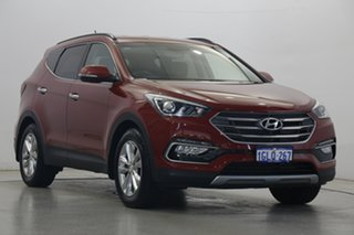 2016 Hyundai Santa Fe DM3 MY17 Elite Red 6 Speed Sports Automatic Wagon