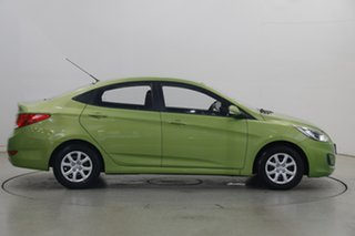 2013 Hyundai Accent RB2 Active Green Apple 4 Speed Sports Automatic Sedan