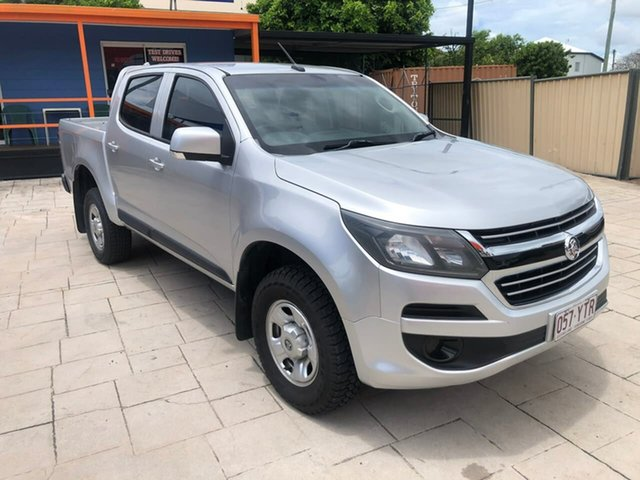 Used Holden Colorado RG MY17 LS Pickup Crew Cab Mundingburra, 2016 Holden Colorado RG MY17 LS Pickup Crew Cab Silver 6 Speed Manual Utility
