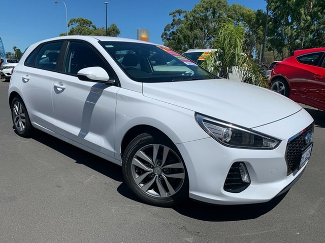 Used Hyundai i30 PD MY18 Active Bunbury, 2017 Hyundai i30 PD MY18 Active White 6 Speed Sports Automatic Hatchback