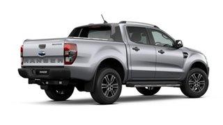 2021 Ford Ranger PX MkIII 2021.25MY Wildtrak Aluminium Silver 10 Speed Sports Automatic