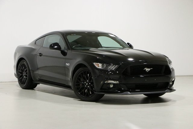 Used Ford Mustang FM Fastback GT 5.0 V8 Bentley, 2016 Ford Mustang FM Fastback GT 5.0 V8 Black 6 Speed Manual Coupe