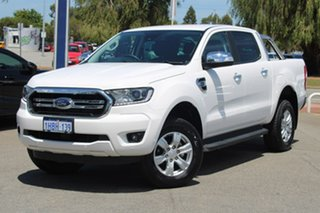 2020 Ford Ranger PX MkIII 2020.25MY XLT White 10 Speed Sports Automatic Double Cab Pick Up.