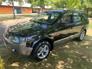 2004 Ford Territory SX TX AWD Black 4 Speed Sports Automatic Wagon.