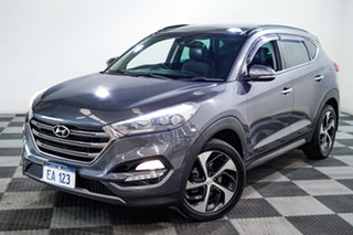 2016 Hyundai Tucson TLE Highlander D-CT AWD Grey 7 Speed Sports Automatic Dual Clutch Wagon.