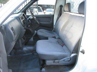 2003 Mitsubishi Triton MK GL White 5 Speed Manual Cab Chassis