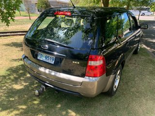 2004 Ford Territory SX TX AWD Black 4 Speed Sports Automatic Wagon