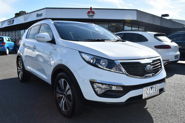 Used Kia Sportage SL Series II MY13 Platinum Wantirna South, 2014 Kia Sportage SL Series II MY13 Platinum White 6 Speed Sports Automatic Wagon