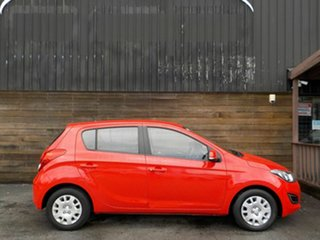 2013 Hyundai i20 PB MY14 Active Red 4 Speed Automatic Hatchback.