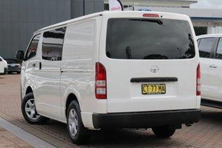 2018 Toyota HiAce TRH201R LWB White 6 Speed Automatic Van.