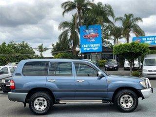 2005 Toyota Landcruiser HDJ100R GXL Blue 5 Speed Automatic Wagon.