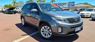 2014 Kia Sorento XM MY14 SLi 4WD Grey 6 Speed Sports Automatic Wagon.
