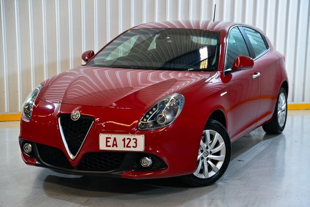 Used Alfa Romeo Giulietta Series 2 Super Hendra, 2016 Alfa Romeo Giulietta Series 2 Super Red/Black 6 Speed Manual Hatchback