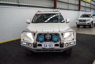 2014 Toyota Landcruiser Prado KDJ150R MY14 Altitude White 5 Speed Sports Automatic Wagon.