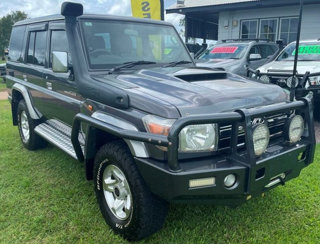 Used Toyota Landcruiser VDJ76R GXL Winnellie, 2018 Toyota Landcruiser VDJ76R GXL Grey 5 Speed Manual Wagon